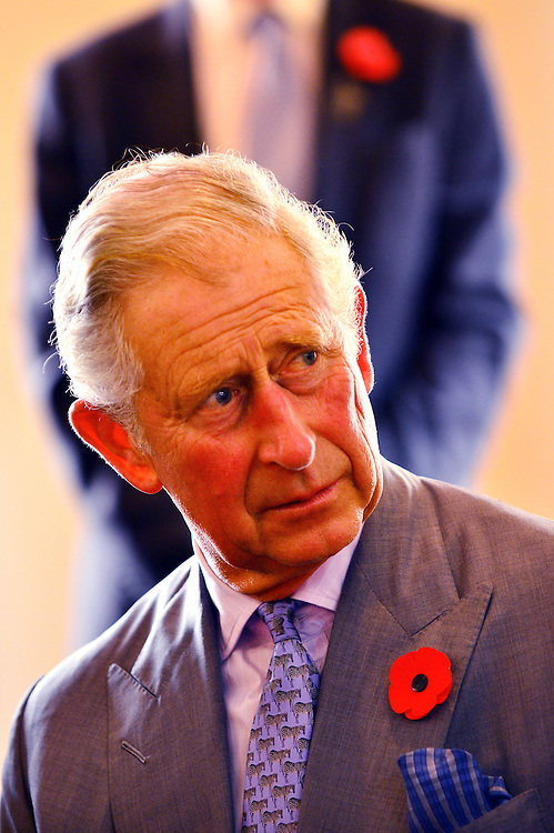 Prince Charles, Prince of Wales visit to Nga Rangatahi Toa cultural group at the Concert Chamber, Auckland, New Zealand, Sunday, November 08, 2015. Credit:SNPA / Reuters, Rafael Ben-Ari