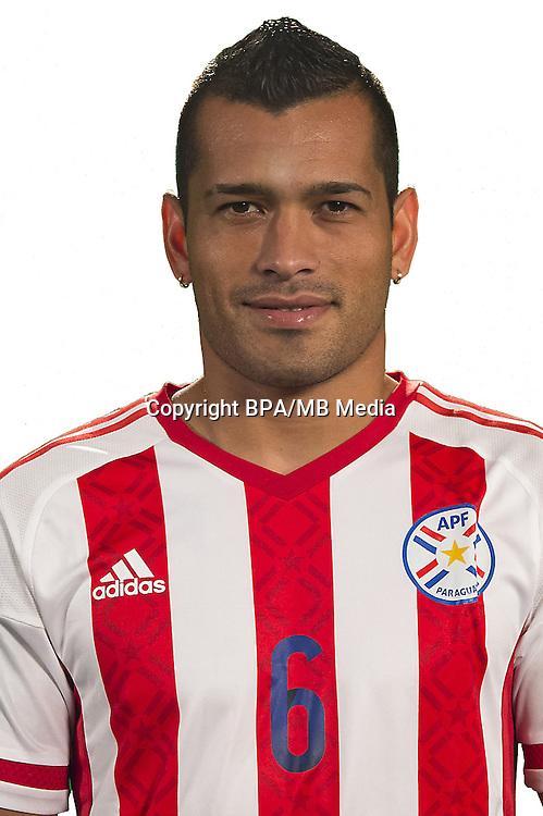 Football Conmebol_Concacaf - <br />Copa America Centenario Usa 2016 - <br />Paraguay National Team - Group A - <br />Miguel Angel Ramon Samudio