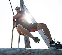 Obstacle course workout at Derek Toshner's TNT Fitness Results in Fond du Lac, WI   2015. Patrick Flood Photography llc photo.