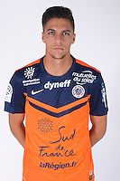 Jonas MARTIN - 23.07.2014 - Portraits officiels Montpellier - Ligue 1 2014/2015<br /> Photo : Icon Sport
