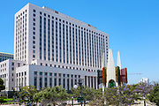 The United States Courthouse Building Los Angeles