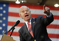 ALLENTOWN, PA - OCTOBER 30:  Democratic Vice Presidential Candidate Sen. Joe Biden speaks to supporters at Muhlenberg College October 30, 2008 in Allentown, Pennsylvania. With the Presidential election less then a week away, Obama and Biden continue to campaign in battleground states. (Photo by William Thomas Cain/Getty Images)