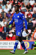 Leicester City Forward, Kelechi Iheanacho (8) during the Premier League match between Bournemouth and Leicester City at the Vitality Stadium, Bournemouth, England on 15 September 2018.
