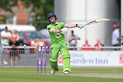 Alex Davies (Wicket Keeper) play and miss during the Specsavers County Champ Div 1 match between Lancashire County Cricket Club and Durham County Cricket Club at the Emirates, Old Trafford, Manchester, United Kingdom on 20 May 2018. Picture by George Franks.