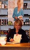 Martha Stewart Book Signing 10/19/2009
