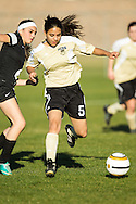 Upper School girls soccer game on January 27, 2014 against Veritas Prep.  PCDS won.