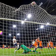 Leonardo Bonucci of Italy (4L) scores 1-2, Jeroen Zoet of Netherlands (5L), Davy Klaassen of Netherlands (M) , voetbal, 28-3-2017, vriendschappelijke interland Nederland - Italie 1-2, Amsterdam Arena