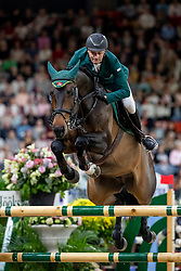SKRZYCZYNSKI Jaroslaw (POL), Chacclana<br /> Göteborg - Gothenburg Horse Show 2019 <br /> Longines FEI World Cup™ Jumping Final III round B<br /> Int. jumping competition over two rounds not against the clock with jump-off in case of point egality (1.50 - 1.60 m)<br /> Longines FEI Jumping World Cup™ Final and FEI Dressage World Cup™ Final<br /> 07. April 2019<br /> © www.sportfotos-lafrentz.de/Stefan Lafrentz