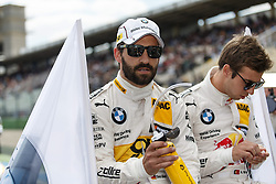 04.05.2014, Hockenheimring, Hockenheim, GER, DTM, 1. Lauf, Hockenheimring, Rennen, im Bild Timo Glock (BMW M4 DTM) vor dem Start // during the 1th run of DTM at the Hockenheimring in Hockenheim, Germany on 2014/05/06. EXPA Pictures © 2014, PhotoCredit: EXPA/ Eibner-Pressefoto/ Neis<br /> <br /> *****ATTENTION - OUT of GER*****