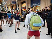 No Trousers Day Tube London 12th January 2020