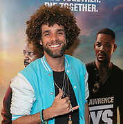 2010, January 20. Pathe ArenA, Amsterdam, the Netherlands. Jermaine Fleur at the dutch premiere of Bad Boys For Life.
