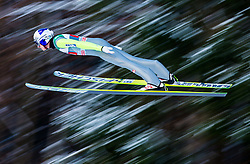 06.01.2015, Paul Ausserleitner Schanze, Bischofshofen, AUT, FIS Ski Sprung Weltcup, 63. Vierschanzentournee, Probedurchgang, im Bild Gregor Schlierenzauer (AUT) // Gregor Schlierenzauer of Austria soars trought the air during his Trial Jump for the 63rd Four Hills Tournament of FIS Ski Jumping World Cup at the Paul Ausserleitner Schanze, Bischofshofen, Austria on 2015/01/06. EXPA Pictures © 2015, PhotoCredit: EXPA/ Johann Groder
