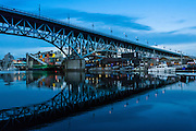 Before the Dawn - Granville Island & Boats in False Creek