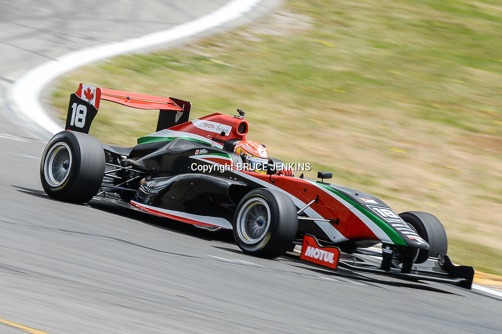 Current championship leader, Lance Stroll from Canada during racing the Taupo round of the TRS season on Sunday 8 Feb 2015