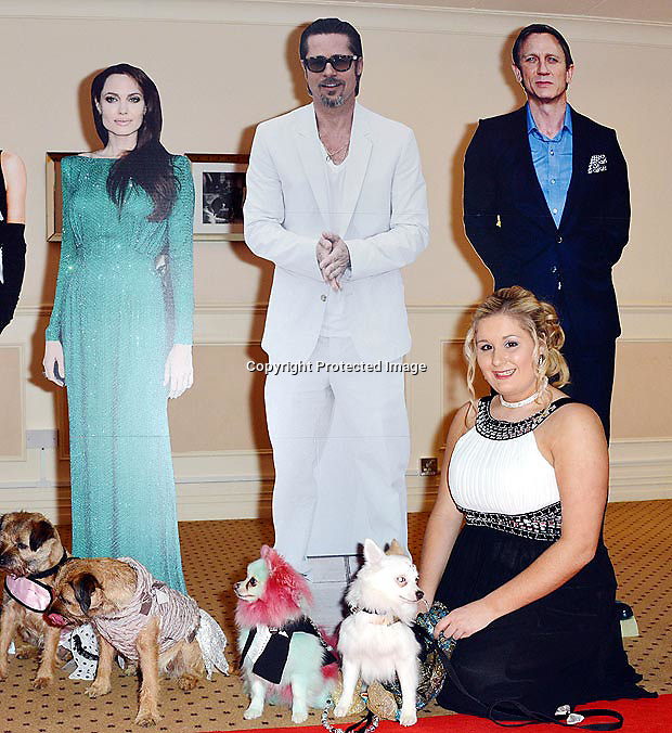 Woman throws £10,000 showbiz party for spoiled dog http://www.thesun.co.uk/sol/homepage/news/5402857/Woman-throws-10000-showbiz-party-for-spoiled-dog.html