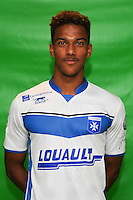 Florian Aye of Auxerre during Auxerre squad photo call for the 2016-2017 Ligue 2 season on September, 7 2016 in Auxerre, France ( Photo by Andre Ferreira / Icon Sport )