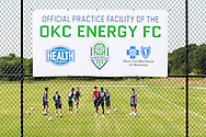 July 14, 2016: OKC Energy FC holds a press conference to announce the completion of their practice facility at the Oklahoma City County Health Department in Oklahoma City, Oklahoma.
