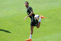 July 12, 2018 - Na - Nyon, 12/07/2018 - Sporting Clube de Portugal trained this morning during their pre-season training session in Switzerland at the Colovray Sports Center in Nyon. Rafinha  (Credit Image: © Atlantico Press via ZUMA Wire)