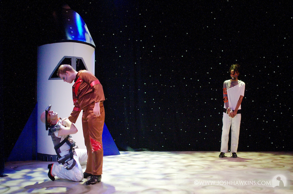 "Chicago Tap Theatre's production ""Changes"" - A science fiction tap dance opera featuring the music of David Bowie at Stage 773 in Chicago"