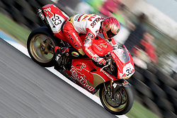 JOHN REYNOLDS REVE RED BULL DUCATI, BSBC British Superbike Championship Donington Park  13th April 1997S/B DONINGTON 13/4/1997