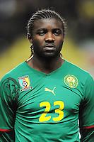 Fussball International, Italienische Nationalmannschaft  Italien - Kamerun 03.03.2010 Dorge Kouemaha (Kamerun)