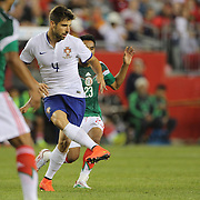 Miguel Veloso, Portugal, in action during the Portugal V Mexico International Friendly match in preparation for the 2014 FIFA World Cup in Brazil. Gillette Stadium, Boston (Foxborough), Massachusetts, USA. 6th June 2014. Photo Tim Clayton