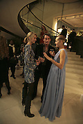 Malin Johansson, Tim Jefferies and Yasmin le Bon, THE CHRISTMAS PARTY CELEBRATING THE 225TH ANNIVERSARY OF ASPREY. 167 NEW BOND ST. LONDON W1. 7 DECEMBER 2006. ONE TIME USE ONLY - DO NOT ARCHIVE  © Copyright Photograph by Dafydd Jones 248 CLAPHAM PARK RD. LONDON SW90PZ.  Tel 020 7733 0108 www.dafjones.com