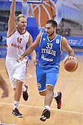 DESCRIZIONE : Qualificazioni EuroBasket 2015 Russia-Italia<br /> GIOCATORE : Pietro Aradori<br /> CATEGORIA : nazionale maschile senior A<br /> GARA : Qualificazioni EuroBasket 2015 - Russia-Italia<br /> DATA : 13/08/2014<br /> AUTORE : Agenzia Ciamillo-Castoria