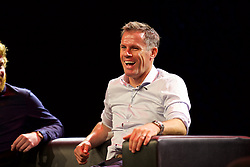 LIVERPOOL, ENGLAND - Friday, September 9, 2016: Former Liverpool player Jamie Carragher during the launch of Ring of Fire - Liverpool FC into the 21st century the players' story at Mountford Hall. (Pic by David Rawcliffe/Propaganda)