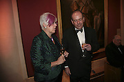 Penny and Peter Newman, Morgan Stanley Great Briton 2006. The Guildhall. Basinghall st. London. 18 January 2006. h by Dafydd Jones. 248 Clapham Rd. London SW9 0PZ. Tel 0207 820 0771. www.dafjones.com.