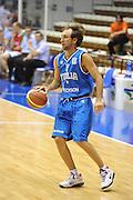 Trieste 8 Settembre 2012 Qualificazioni Europei 2013 Italia Bielorussia<br /> Foto Ciamillo<br /> Nella foto : giuseppe poeta