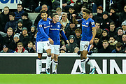 Wayne Rooney (#10) of Everton celebrates Everton's first goal (0-1) during the Premier League match between Newcastle United and Everton at St. James's Park, Newcastle, England on 13 December 2017. Photo by Craig Doyle.