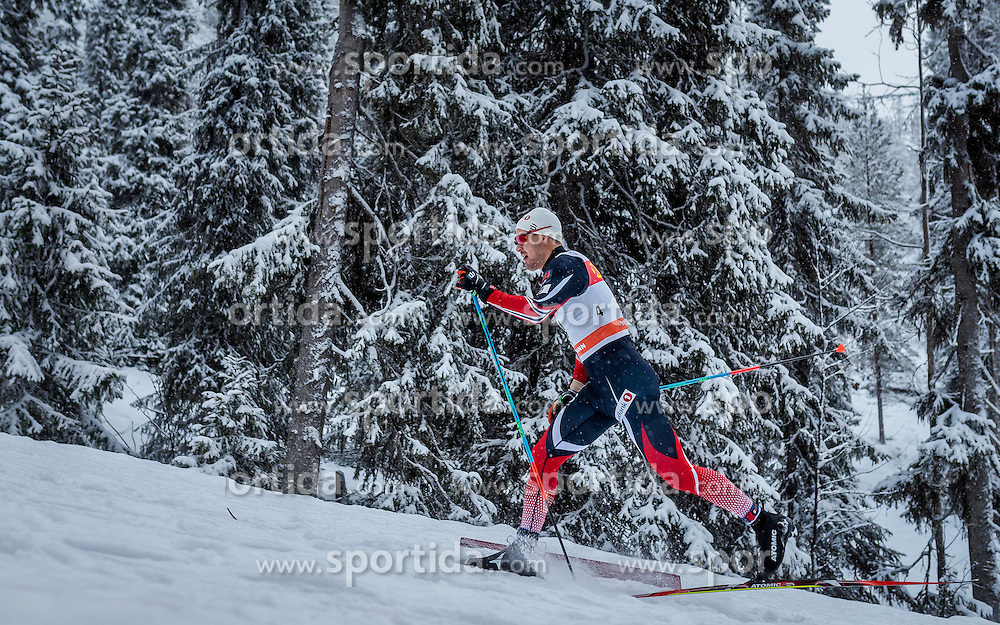 26.11.2016, Nordic Arena, Ruka, FIN, FIS Weltcup Langlauf, Nordic Opening, Kuusamo, Herren, im Bild Sondre Turvoll Fossli (NOR) // Sondre Turvoll Fossli of Norway during the Mens FIS Cross Country World Cup of the Nordic Opening at the Nordic Arena in Ruka, Finland on 2016/11/26. EXPA Pictures © 2016, PhotoCredit: EXPA/ JFK