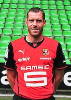 Sylvain ARMAND - 19.09.2013 - Photo officielle - Rennes - Ligue 1<br /> Photo : Philippe Le Brech / Icon Sport