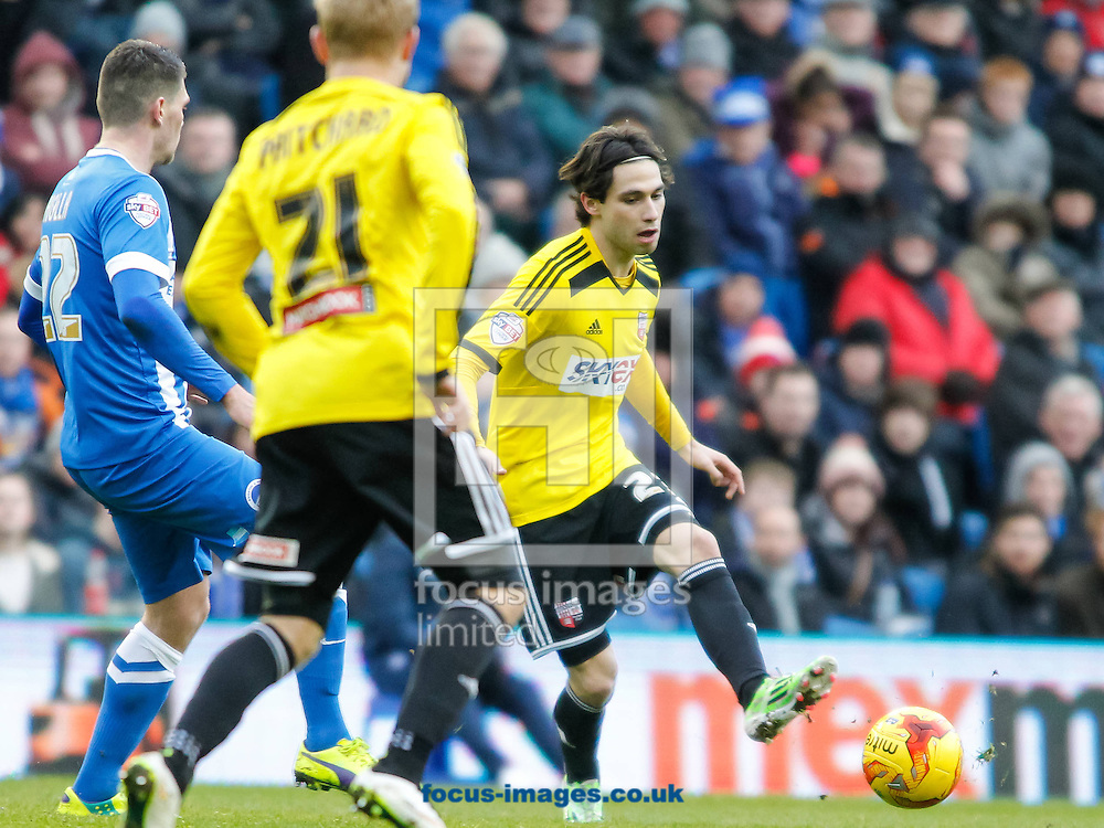 Jota of Brentford during the Sky Bet Championship match between Brighton and Hove Albion and Brentford at the American Express Community Stadium, Brighton and Hove<br /> Picture by Mark D Fuller/Focus Images Ltd +44 7774 216216<br /> 17/01/2015