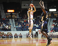 """Ole Miss' Marshall Henderson (22) vs. East Tennessee State at the C.M. """"Tad"""" Smith Coliseum in Oxford, Miss. on Saturday, December 14, 2012. Mississippi won 77-55 to improve to 7-1. (AP Photo/Oxford Eagle, Bruce Newman).."""
