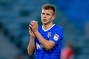 Gillingham FC midfielder Jake Hessenthaler (8) applauds the fans during the EFL Sky Bet League 1 match between Gillingham and Walsall at the MEMS Priestfield Stadium, Gillingham, England on 17 February 2018. Picture by Martin Cole.