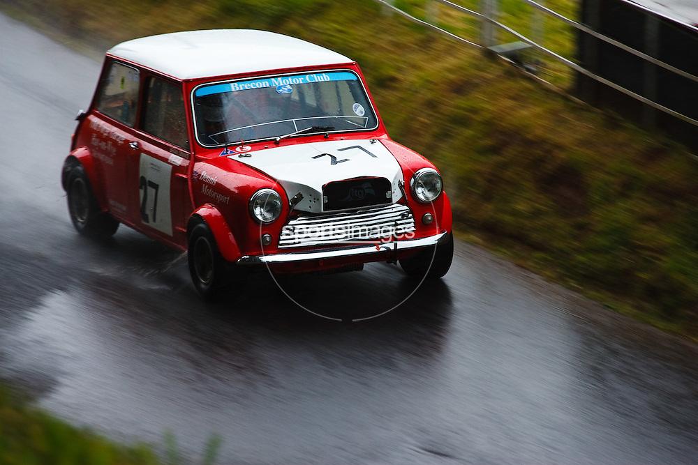 Car number 27 at Shelsley Hill climb 6/6/10