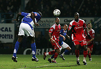 Photo: Paul Thomas.<br /> Chesterfield Town v Charlton Athletic. Carling Cup. 07/11/2006.<br /> <br /> Wayne Allison scores for Chesterfield to make it 3 -3.