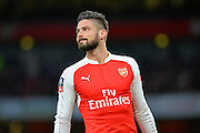 Arsenal Forward Olivier Giroud during the The FA Cup match between Arsenal and Sunderland at the Emirates Stadium, London, England on 9 January 2016. Photo by Adam Rivers.