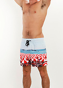Reif Meyers Ocean Zone Boardshorts Cottesloe studio shoot