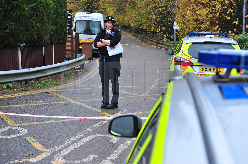 &copy; Licensed to London News Pictures. 15/11/2016<br /> Stable Lane in Bexley is sealed off by police this morning.<br /> BEXLEY MURDER at Double K Gym.<br /> A murder investigation is under way after a man was stabbed to death at a gym in Bexley Village,Bexley,Kent.  Double K Gym in Stable Lane,Bexley is run by Idris Elba's trainer Kieran Keddle.    A man, in his 20s, was suffering from critical stab injuries and died at the scene yesterday morning.<br /> <br /> <br /> Photo credit :Grant Falvey/LNP