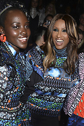 Lupita Nyong'o und Iman beim Kenzo x H&M Collection Launch Event am Pier 36. New York / 191016<br /> <br /> *** Kenzo x H&M Collection Launch Event at Pier 36. in New York, USA, October 19, 2016 ***