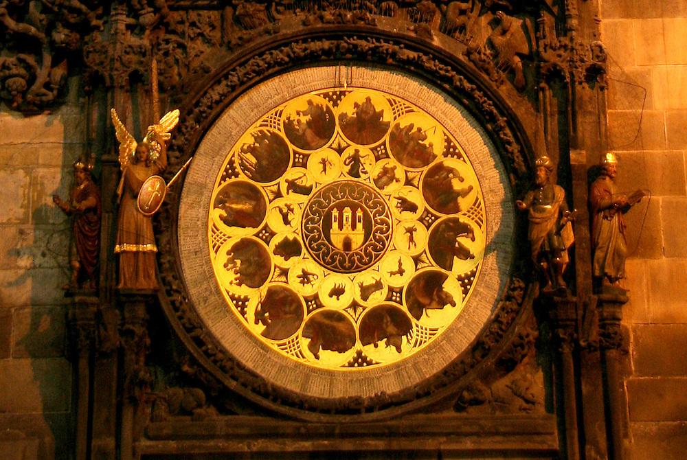 Prague Astronomical Clock (Pražský Orloj), Prague, Czech Republic