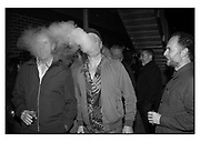 NIALL MCDIARMID; DOUGIE WALLACE; CRAIG ATKINSON,Opening of the Martin Parr Foundation party,  Martin Parr Foundation, 316 Paintworks, Bristol, BS4 3 EH  20 October 2017DOUGIE WALLACE;