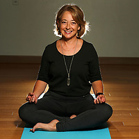 Kaye Cannon, owner of Shanti Yogi Studio.