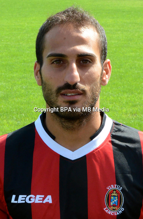 Italian League Serie B -2014-2015 / <br /> ( SS Virtus Lanciano  ) -<br /> Antonio Piccolo