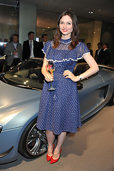 SOPHIE ELLIS-BEXTOR at the Global Launch of Audi's first Digital Showroom, 74-75 Piccadilly, London on 16th July 2012.