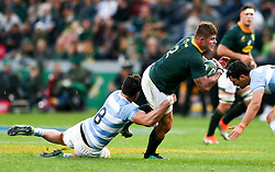 Durban. 180818.Malcolm Marx of South Africa during the Rugby Championship match between South Africa and Argentina at Jonsson Kings Park in Durban, South Africa. Picture Leon Lestrade. African News Agency/ANA