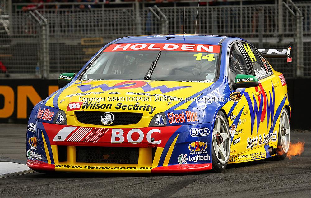 Cameron McConville.<br /> Practice Day. Aussie V8 Supercars Round Three, Hamilton 400, Frankton, Hamilton. Friday, 18 April 2008<br />  2008. Photo: Dave Lintott/PHOTOSPORT